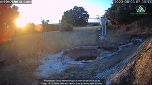 Webcam del Jardín Meteorológico