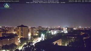 Webcam en Madrid-Moratalaz