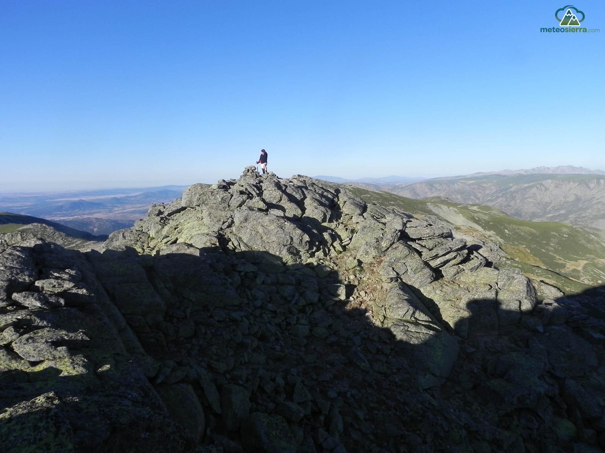 En el Juraco (2383 m)