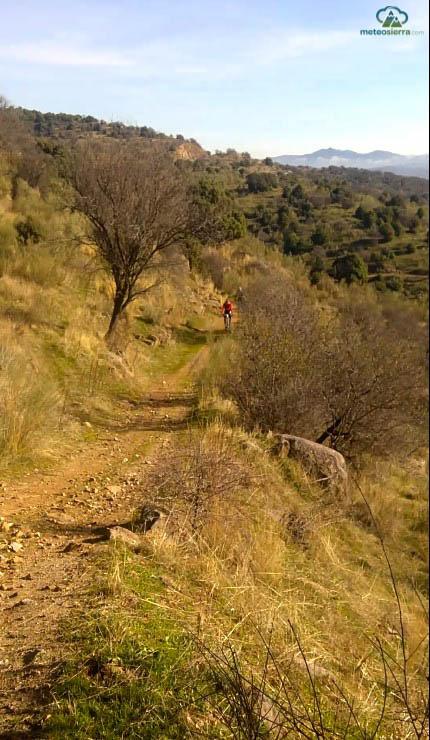 Valle de iruelas en bici