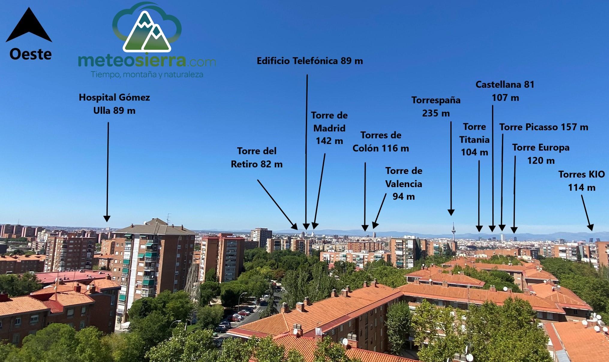 Vistas desde Madrid (Edificios)